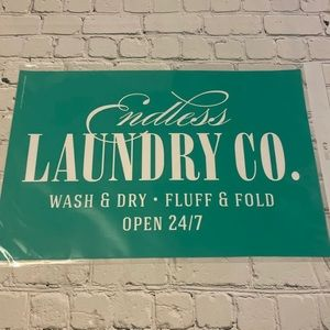 Chalk Couture Endless Laundry Transfer New
